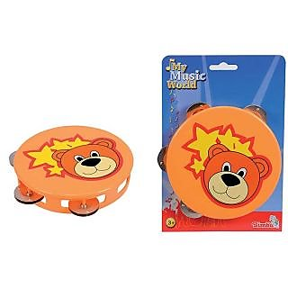 Simba My Music World Plastic Tambourine (15cm)