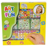 Simba Art and Fun 1000 Sticker Multi Color