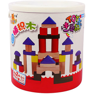 Baybeeshoppee Wooden Building Blocks 2900649