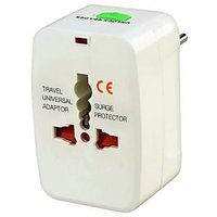 International All In One Adapter Universal World Wide Travel Plug Adapter