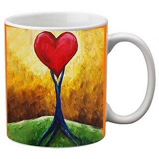 meSleep Heart Mug