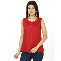 Stylish Top by Klick TOP2008 Red