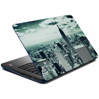 meSleep Grey Old City Laptop Skin
