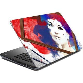 meSleep Painted Face Laptop Skin