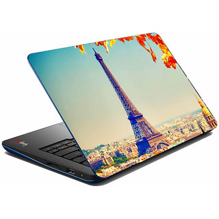 meSleep Eiffel tower Laptop Skin