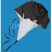 56 Inch Speed Training Parachute Running Chute - Black