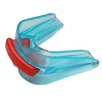 Double Side POE Soft Convertible Boxing Mouth Guard For Sport Protection - Light Blue
