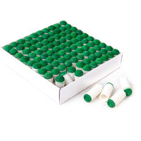 100PCS 9mm Push-on Snooker Tips Pool Cue Stick Slip-on Tips