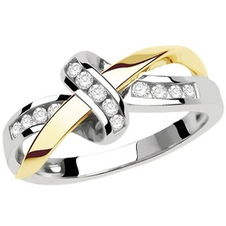 Zevrr Sterling Silver Ring made with SWAROCSKI ZIRCONIA (PZSR010695)