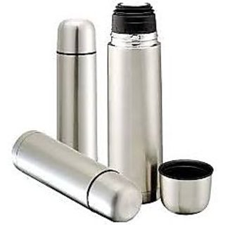 Kit Chat Double Stainless Steel Flask(1 ltr)