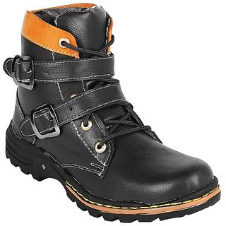 Shooz Mens Black Boot
