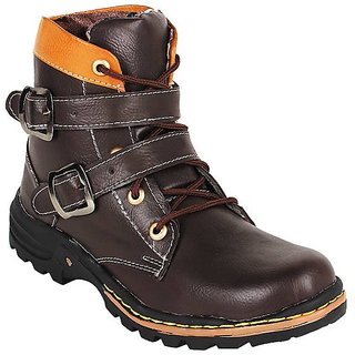 Shooz Mens Brown Boots