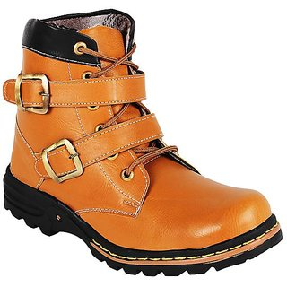 Shooz Mens Tan Boots