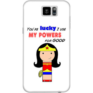 The Fappy Store use your power for good plastic back cover for Samsung galaxy s6