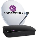 Videocon d2h SD Set Top Box with 2 Month Subscription of South Platinum Pack