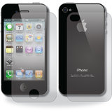 IPhone 4 4S LCD Scratch Guard Screen Protector (Front + Back)