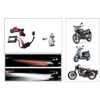 Uneestore Xenon Motorcycle Hid Light 8000k- Bullet 500