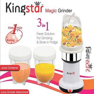 Kingstar Magic 3 Jar Grinder Cum Juicer