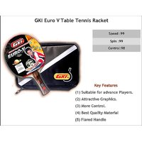 GKI Euro V Table Tennis Racquet at Lowest Price