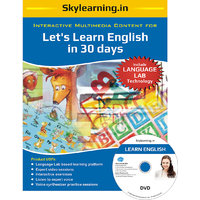 Lets Learn English In 30 Days CD/DVD Combo Pack