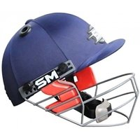 SM Swagger Cricket Helmet - M (Blue)