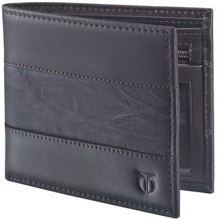 Titan Casual Brown Wallet for Men