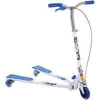The FlyerS Bay Fiddle Diddle Scooter(Blue) (Blue)