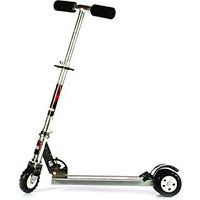 The FlyerS Bay Ultra Durable Big Wheel Scooter (Silver)