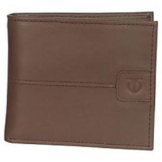 Titan Men Tan Genuine Leather Wallet