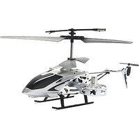 The Flyer's Bay 4 Channel Rc  Fighter (Silver)