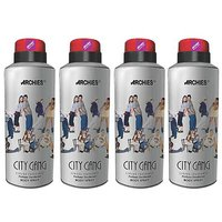 Archies Deo City Gang (Set of 4)