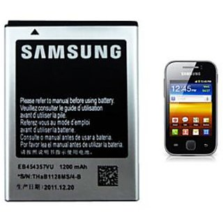 Samsung New High Quality Replacement Battery EB454357VU For Galaxy Y S5360 available at ShopClues for Rs.499