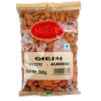 Miltop California Almonds - 500 Gm