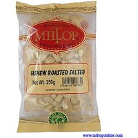 Miltop Cashew Roasted Salted - 250 Gm
