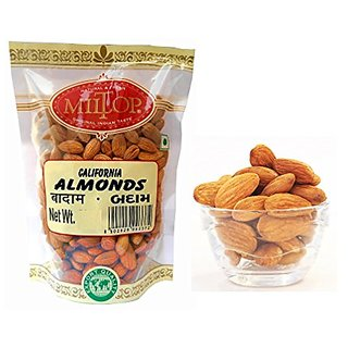 Miltop California Dried Fruits Almonds - 500 Gm