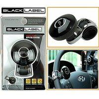 Black Label Car Steering Wheel Power Holder Knob Spinner