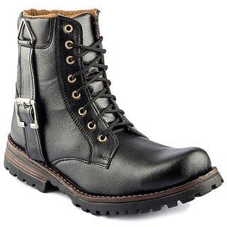 Shooz Mens Tendy Black Boots