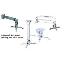 Universal Projector Ceiling Mount Set Including Screws Brackets (1-2Feet)