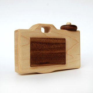 Personalized Wooden Toy Camera modern organic imagination toy
