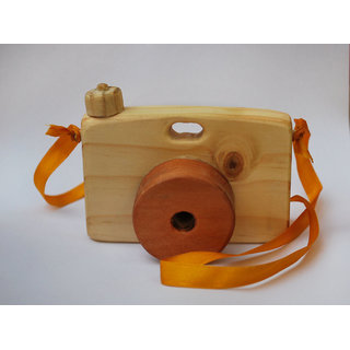 WOODEN CAMERA TOY  Handmade Wooden Toy
