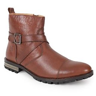 Le Fore Bravo Brown High Ankle Boots