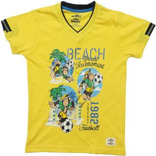 Kothari Boys Yellow TShirt