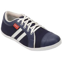 Bachini Mens Casual Shoes 1508-Navy Blue