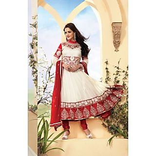 Stylelok Faux Georgette Anarkali Suit
