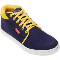 Bachini Mens Casual Shoes 1506-Navy Blue