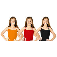 Combo Kids Halter Neck Top - Orange/Red/Black