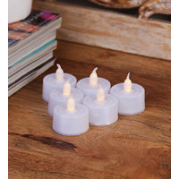 Set of 6 LED Tea light for Diwali Decoration