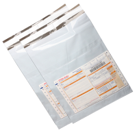 """150 Pcs-7*10""""-POD-Tamper Proof Evident Plastic Courier Shopclues Packing Bags"""