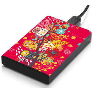 meSleep Owls Tree Hard Drive Skin
