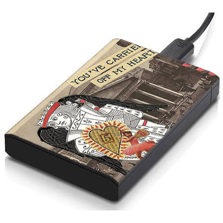 meSleep Cards Hard Drive Skin